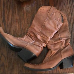 Shoes - Slouchy Cowboy Boots